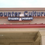 Counter Culture Frozen Yogurt Channel Letter Sign, Baton Rouge Photo - Greater Baton Rouge Signs
