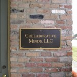 Collaborative Minds, LLC, Baton Rouge, Plaque Picture - Greater Baton Rouge Signs