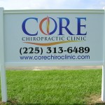 Core Chiropractic Aluminum Sign Photo