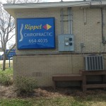 Rippel Chiropractic Lighted Sign - Greater Baton Rouge Signs