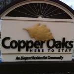 Cooper Oaks Non-lit Letters Sign