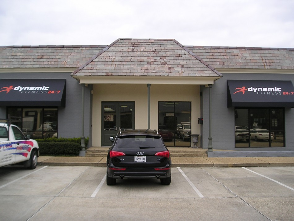 Dynamic Fitness Baton Rouge Awnings Photo