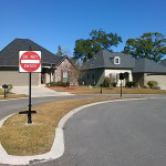 Forest Creek Subdivision - Do Not Enter Sign Photo - Greater Baton Rouge Signs