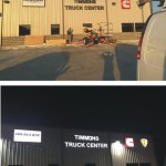 Timmons Truck Center channel letter signs - Greater Baton Rouge Signs