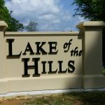 Lake of the Hills Monument Signs - Greater Baton Rouge Signs